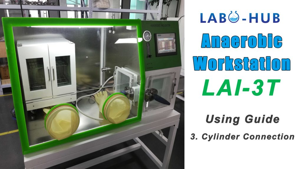Anaerobic Workstation LAI-3T Using Guide – 3.  Gas Cylinder Connection