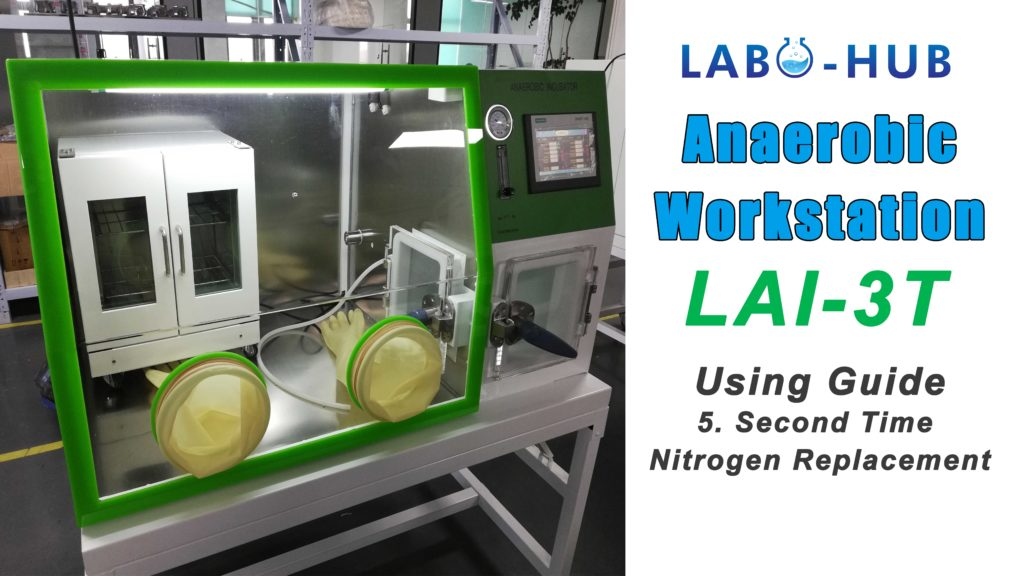 Anaerobic Workstation LAI-3T Using Guide – 5. Second Time Nitrogen Replacement
