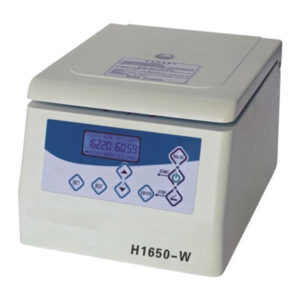 H1650-W Tabletop High Speed Micro Centrifuge