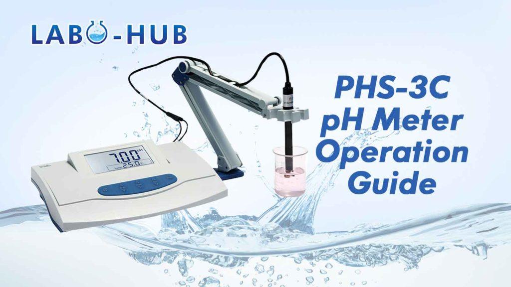 PHS-3C pH Meter Installation And Calibration