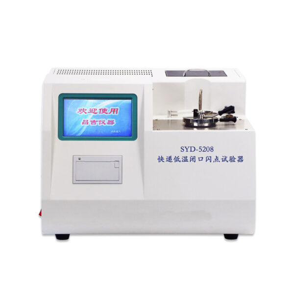 SYD-5208 Rapid Low Temperature Closed Cup Flash Point Tester