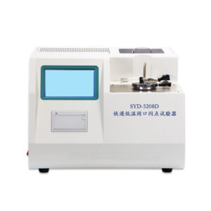 SYD-5208D Rapid Low Temperature Closed Cup Flash Point Tester